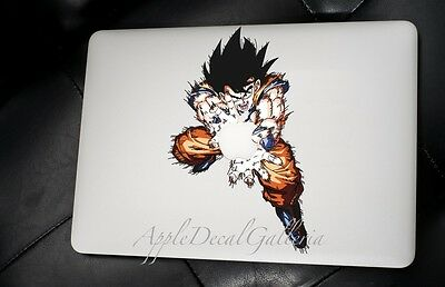 Dragon Ball Goku Decal Sticker Skin Decals for Macbook Pro Air 13 15 17 inch WK