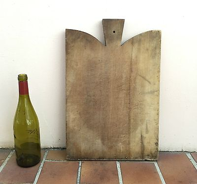 Antique Vintage French Bread Or Chopping Cutting Board  Wood 113