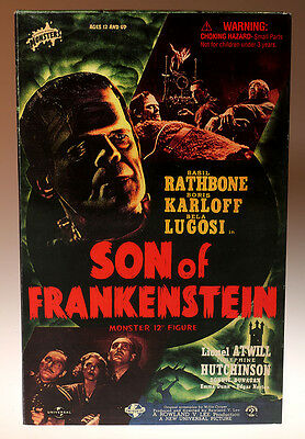 "Son of Frankenstein 12"" Figure Universal Studios Monsters Sideshow Toys"