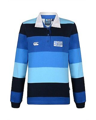 Polo rugby Hooker Canterbury Rugby World Cup 2015 Taille M RWC Femme