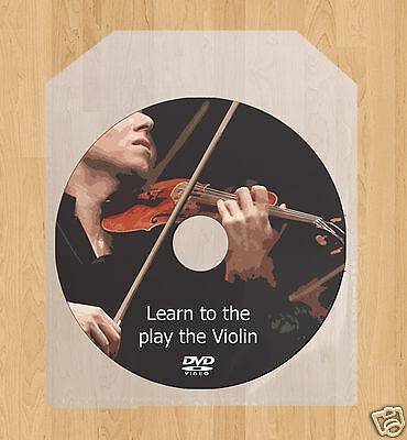 Learn how to play the Violin lessons DVD Führung