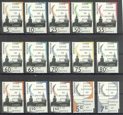D44-58 Cour Internationale 1989-1994 postfris (MNH)