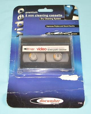 Vintage Discwasher Digital 8mm Cleaning Tape