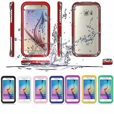 Waterproof Shockproof Dust Proof Dirt Cover Case For Samsung Galaxy S6 /S6 edge