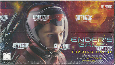 Ender's Game Trading Cards One (1) Sealed Box Cryptozoic 2014