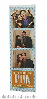 100 Acrylic Magnetic Photo Booth Frames 2x6