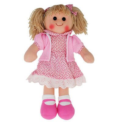 "Hopscotch Rag Doll INDIA 14""/35cm soft bodied ragdoll soft toy NEW"