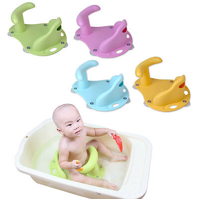 Baby Infant Child Toddler Bath Seat Ring Non Anti Slip Safety Chair Mat Pad Tub