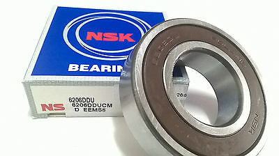 6206 DU NSK Ball Bearing 30x62x16 mm deep groove ball bearing 6206ddu