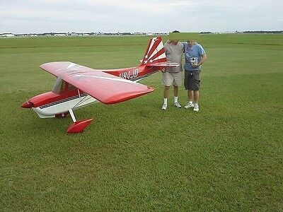 1/2 Scale Bud Nosen Citabria  Giant Scale RC Model AIrplane Printed Plans