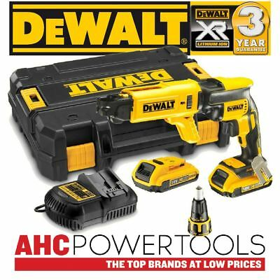 Dewalt DCF620D2K Collated Drywall Screwdriver 18V Cordless Brushless (2 x 2Ah)