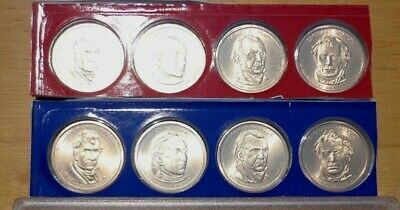 2009 P & D Presidential Dollar 8 Coin Lot Sealed Uncirculated Mint Set Cello