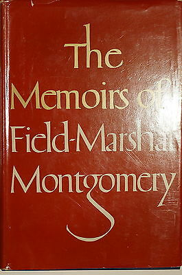 British Memoirs of Field Marshal Montgomery WW1 WW2 8th Army Reference Book
