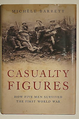 WW1 British Casualty Figures How 5 Men Survived First World War Reference Book