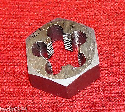 "High Quality M14 X 1.5 Metric 1-1/16"" Hex  Rethread Die 14MM Carbon Steel RH"