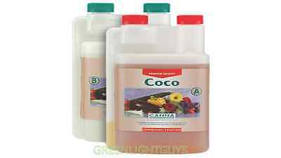 Canna Coco a And b 1 Litre Canna Coco Veg And Flower Plant Food Nutrients