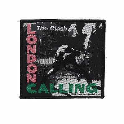 THE CLASH - LONDON CALLING PATCH - Official Sew On Patch - NEW - METAL