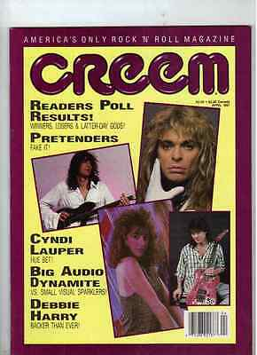 David Lee Roth Creem Magazine From April 1987 (Suzanna Hoffs)