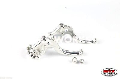 Dia-Compe MX122 - Brake Levers Pair Silver - Old School Vintage BMX