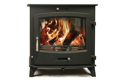 Aquaburn 30kW Boiler Stove Woodburner Multifuel Central Heating And Hot Water