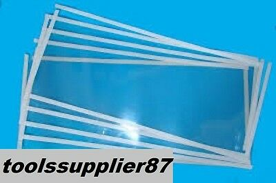 Replacement Glass Screen sheet55x25 SBC 220L-420L Sand Blasting Cabin - 5pieces