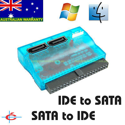 Bidirectional SATA to IDE  or IDE to SATA Adapter