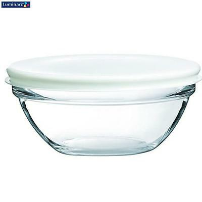 Luminarc Stacking Bowl With Lid 14Cm Dinnerware Serveware Kitchen Home New