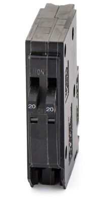 Square D Qo2020 Twin 1P 20A 120/240V Breaker