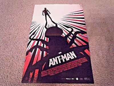 Ant-Man Movie POSTER - Ant Man 2015 - Marvel Comics Paul Rudd