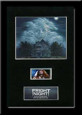 Fright Night Framed 35mm Mounted Film cells movie memorabilia collectable