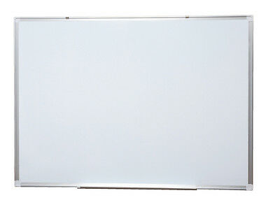 RAPID WALL MOUNTED WHITE BOARD W159 - aluminium framed