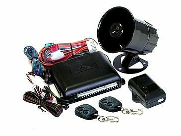 Mongoose M20 Car Alarm & Immobiliser 3 Years Warranty with 2 Remote Control