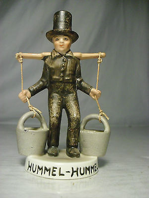 HUMMEL Figurine Germany MORS Water Carrier MAN Vtg Watering hole Amish boy