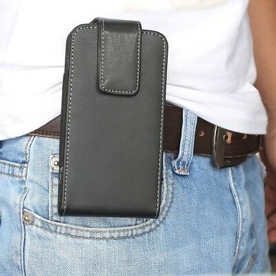 * 360 Swivel Belt Clip Leather Pouch Case Holster Various Mobile Phones