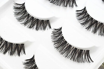 5 Pairs Long Thick Handmade Makeup Fake False Eyelashes Eye Lashes#17