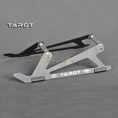 Tarot New type Carbon Fiber Landing Skid  For Trex 450 PRO DFC Helicopter