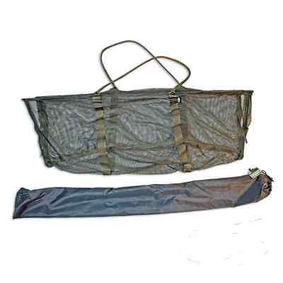 "new poled carp weigh sling easi-drain + stink bag 48"" cradle"