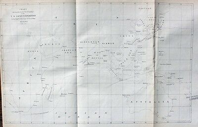 US Navy Japan Expedition Commodore Matthew Perry China Kapstadt Mauritius