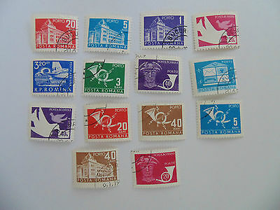 L423 - Collection Of Romania Stamps