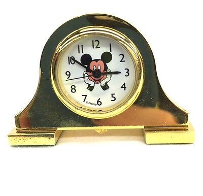 Vintage Mickey Unlimited Collectible Miniature Clock New