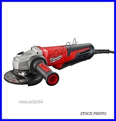 "New Milwaukee 6117-30 13 Amp 5"" Small Angle Grinder Paddle, Lock-On 11,000 rpm"