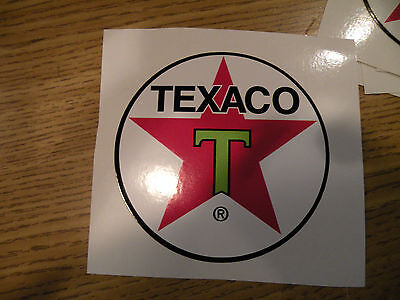 "#325 (2) 3"" Texaco Racing superbike motorcycle decal sticker vinyl CBR CBX HRC"
