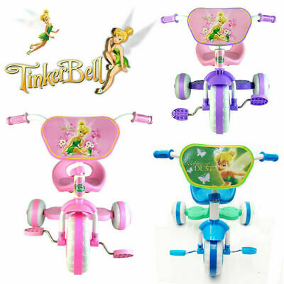 Disney Tinkerbell Fairies Bike Trike Tricycle Kid Child 3 Wheel Car Ride On Toy