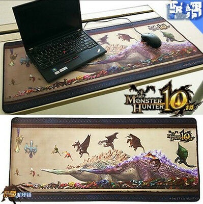 Monster Hunter Dragon - head of rex Mouse Mat Pad Big Size Cos Gift 16*35.4""
