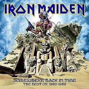 Somewhere Back In Time: The Best Of - Iron Maiden CD CAPITOL