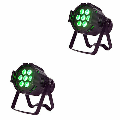 ColorKey MicroPar Hex 7 7x12w RGBAW-UV LED-Pair