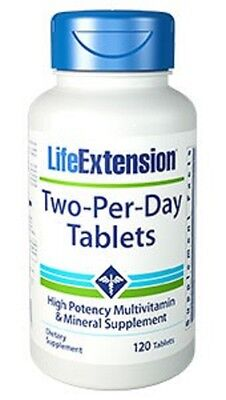 Life Extension - Two-per-Day Tablets - 120 vegetarische Tabletten