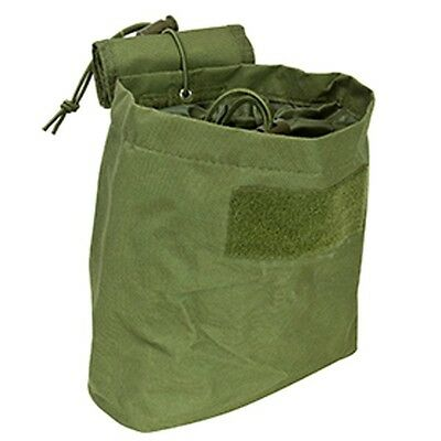 NEW VISM OD GREEN Molle PALS Tactical Roll Up Magazine Drop Dump Pouch Holster