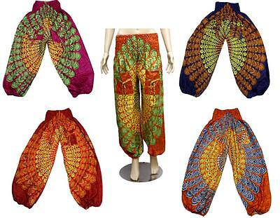 25 Casual Afghani Alladin Fashion Printed Ladies Elastic Pants Wholesale Lot