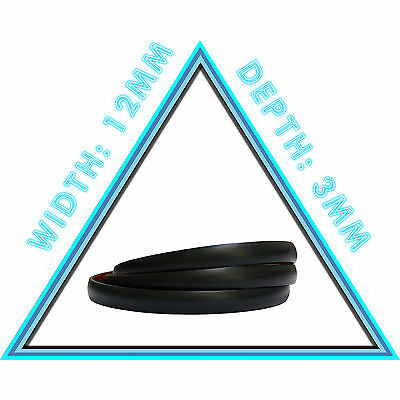 1m of 12mm Black Car Styling Strip Adhesive Moulding Trim Decorative Protective